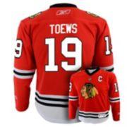 Reebok Chicago Blackhawks Jonathan Toews Team Color NHL Jersey -  Boys 8-20