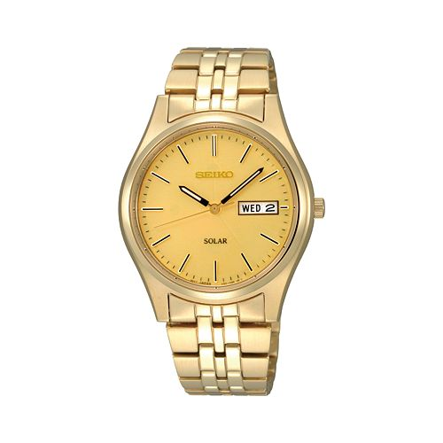 Seiko Men's Stainless Steel Solar Watch - SNE036
