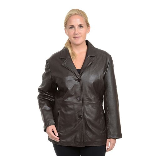 b3047b8eff3 Plus Size Excelled Leather Jacket