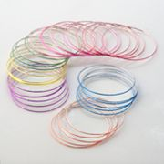 Hanover Accessories 40-pk. Bangle Bracelets - Kids
