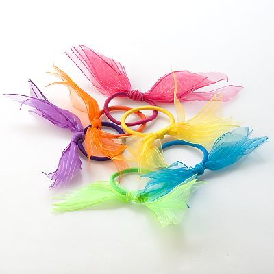 Fantasia 6-pk. Bow Ponytail Holders