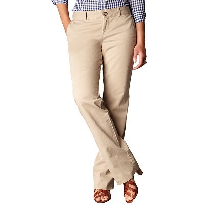 Dockers Straight-Leg Pants - Petite