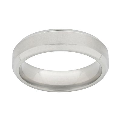 Spectore Titanium Beveled Band - Men