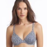 Chaps Floral Microluster Full-Coverage Contour Bra