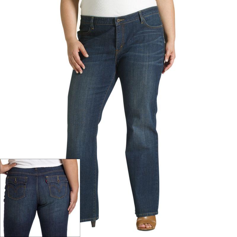 Levi's 590 Bootcut Fuller-Waist Jeans - Women's Plus