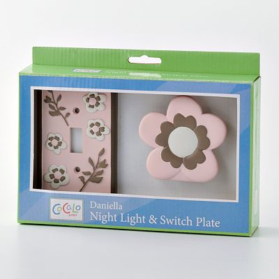 CoCaLo Baby Daniella Nightlight and Switch Plate