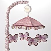 CoCaLo Baby Sugar Plum Butterfly Musical Mobile