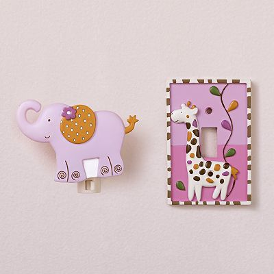 CoCaLo Baby Jacana Nightlight and Switch Plate