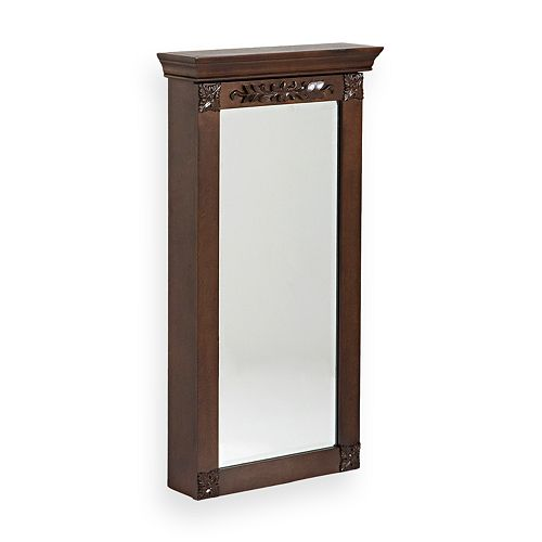Wall-Mount Jewelry Armoire