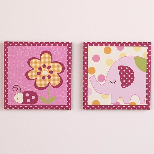 CoCaLo™ Baby Zurie 2-pk. Canvas Wall Art