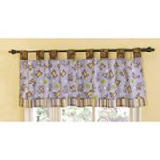 CoCaLo Baby Monkey Time Window Valance