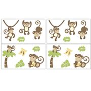 CoCaLo Baby Monkey Time Wall Appliques
