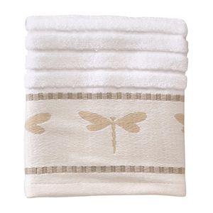 Creative Bath Dragonfly Washcloth