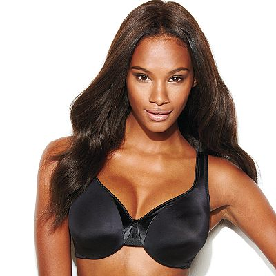 Olga Full-Figure Satin Trim Underwire Bra - 35002