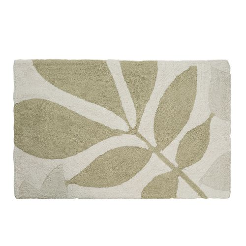Creative Bath Shadow Leaves Bath Rug