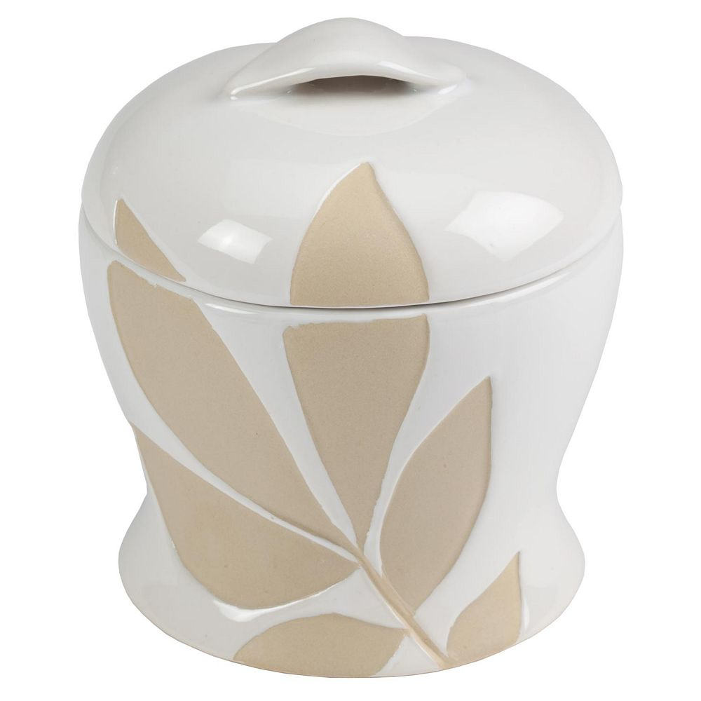 Creative Bath Shadow Leaves Jar