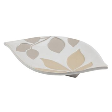Creative Bath Shadow Leaves Soap Dish