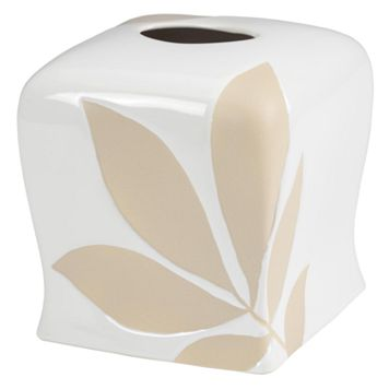 Creative Bath Shadow Leaves Tissue Holder