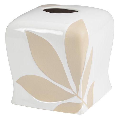 Creative Bath Shadow Leaves Tissue Holder