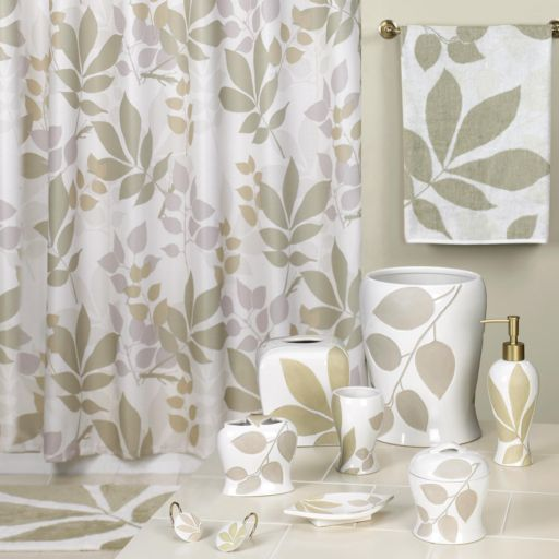 Creative Bath Shadow Leaves 12-pk. Shower Curtain Hooks