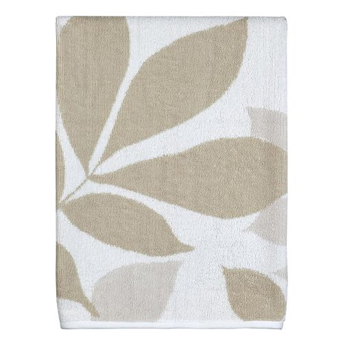 Creative Bath Shadow Leaves Bath Towel