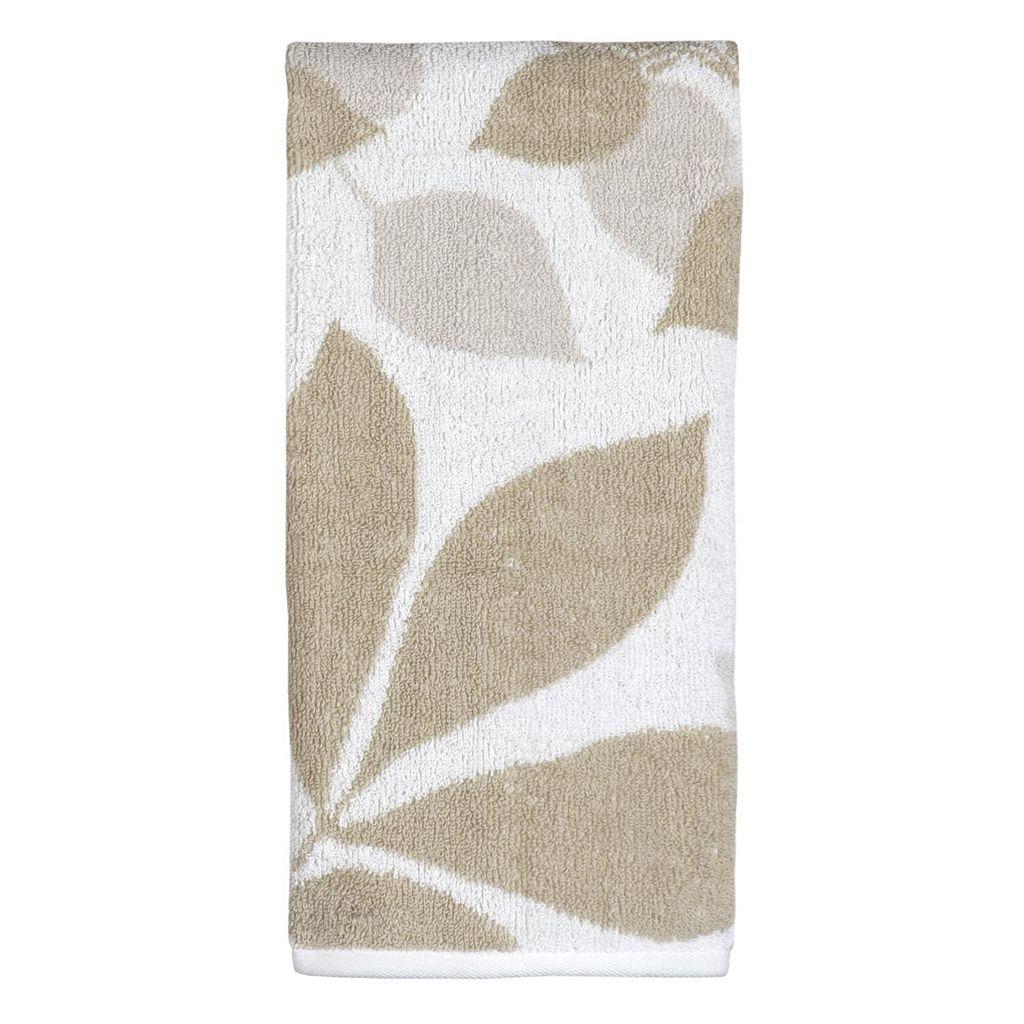 Creative Bath Shadow Leaves Hand Towel