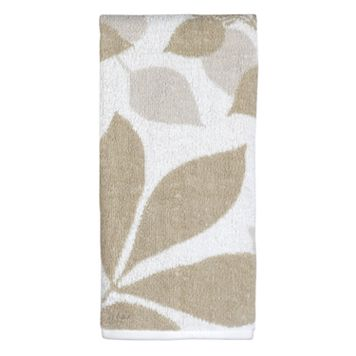 Creative Bath Shadow Leaves Hand Towel