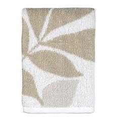 Creative Bath Shadow Leaves Washcloth