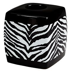 Creative Bath Zebra Tissue Holder