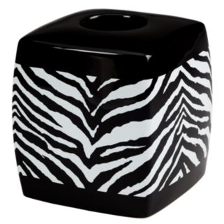 Creative Bath Zebra Tissue Holder