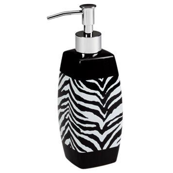 Creative Bath Zebra Lotion Pump