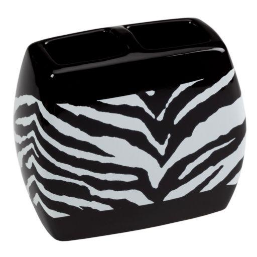 Creative Bath Zebra Toothbrush Holder