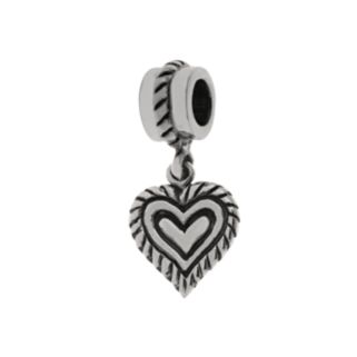 Individuality Beads Sterling Silver Heart Charm
