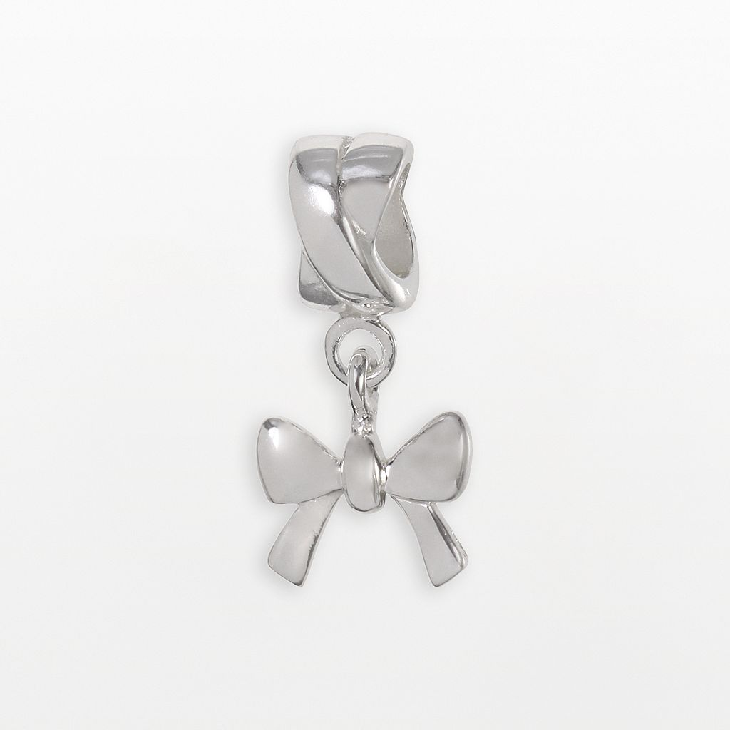 Individuality Beads Sterling Silver Bow Charm
