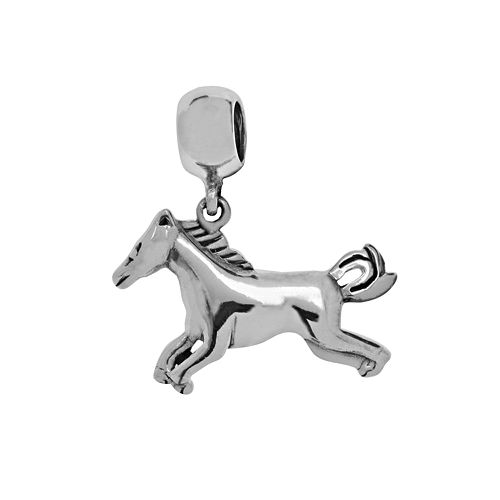 Individuality Beads Sterling Silver Horse Charm