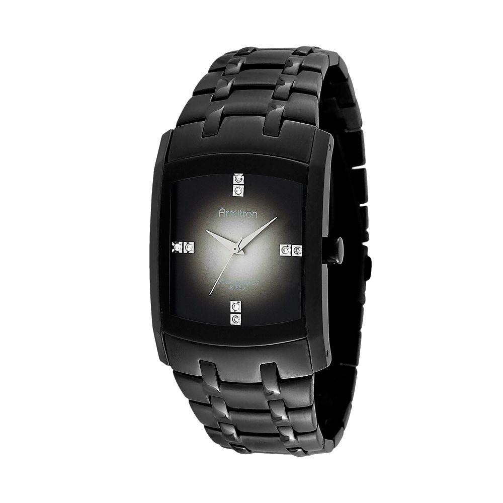 men s crystal stainless steel watch 20 4507dgti armitron men s crystal stainless steel watch 20 4507dgti