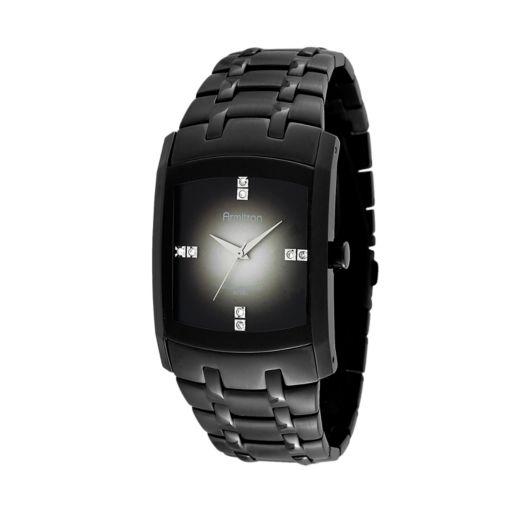 Armitron Men's Crystal Stainless Steel Watch - 20/4507DGTI