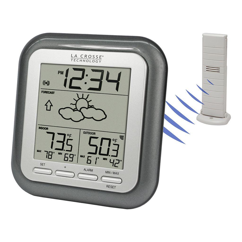 La Crosse Technology Forecast Icons Wireless Weather Station