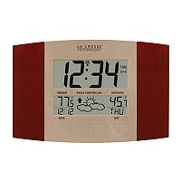 La Crosse Technology Atomic Digital Wall Clock with Forecast