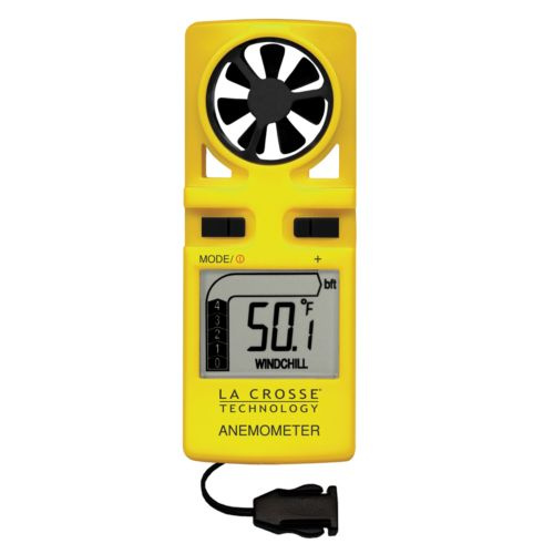 La Crosse Technology Handheld Wind Anemometer