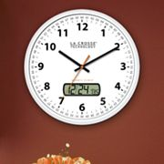 La Crosse Technology Analog Atomic Wall Clock