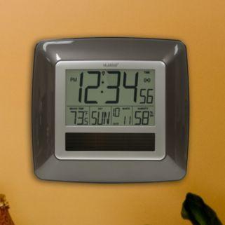 La Crosse Technology Solar Powered Atomic Clock