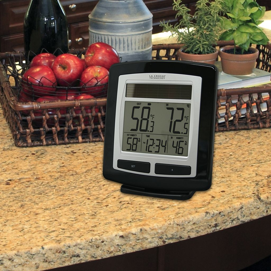 La Crosse Technology Solar-Powered Wireless Weather Station