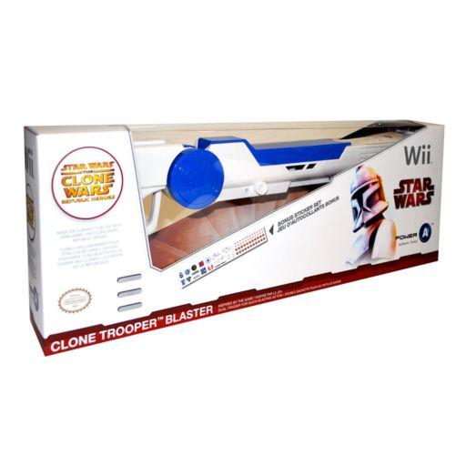 Nintendo Wii Star Wars The Clone Wars Republic Heroes Clone Trooper Blaster
