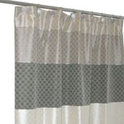 Famous Home Fashions Biarritz Fabric Shower Curtain
