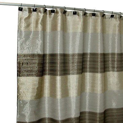 Famous Home Fashions Alys Fabric Shower Curtain