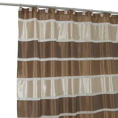 Famous Home Fashions Congo Fabric Shower Curtain