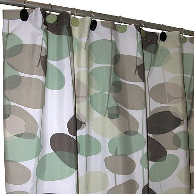 Famous Home Fashions Olivia Fabric Shower Curtain