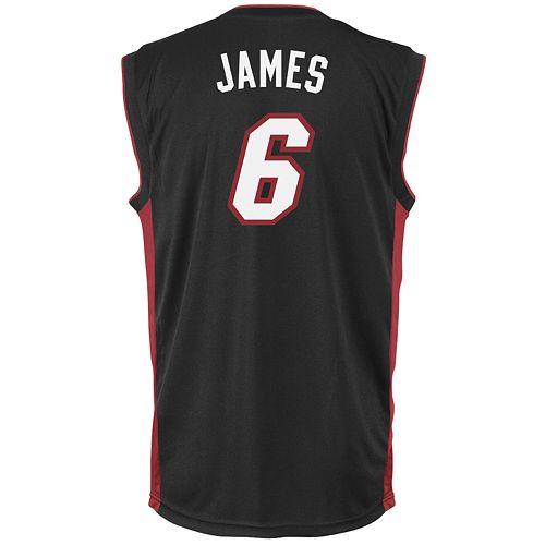 timeless design 39dfb 5185e adidas® Miami Heat LeBron James Jersey