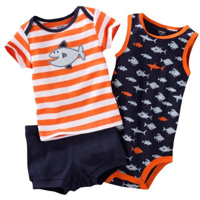 Carter's Fish Tee Set - Newborn